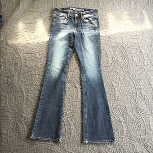 "Jeans ""Size 2 Long"" Super Stretch Kick Boot"